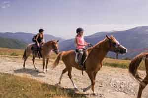 family horse riding holiday bulgaria central balkan